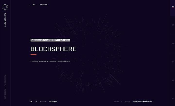 Blocksphere website