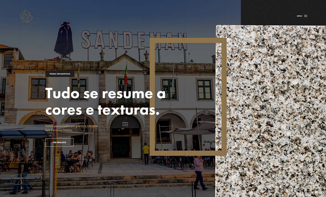 GranumLux . Granite Selection website