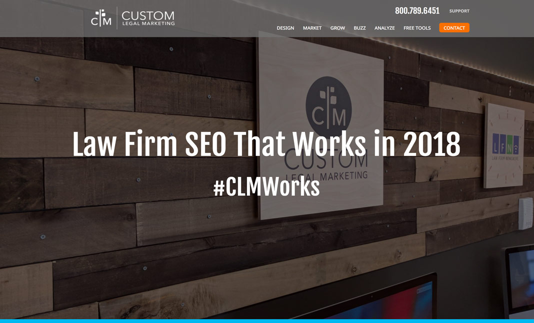 Law Firm SEO website