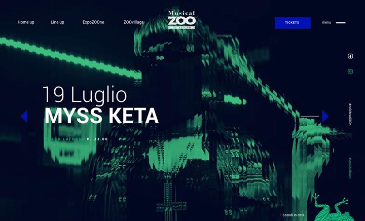 Musical Zoo Festival website