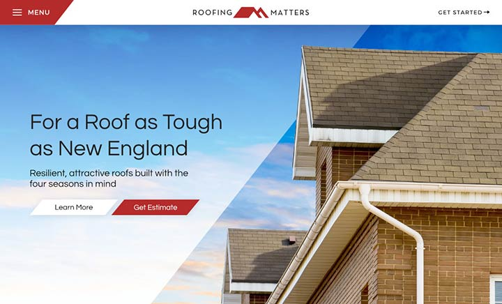 Roofing Matters website