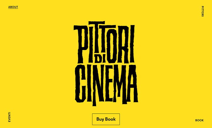 Pittori di Cinema website