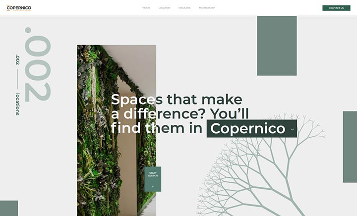 Copernico website