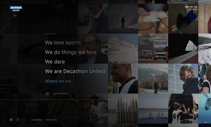 Decathlon United website