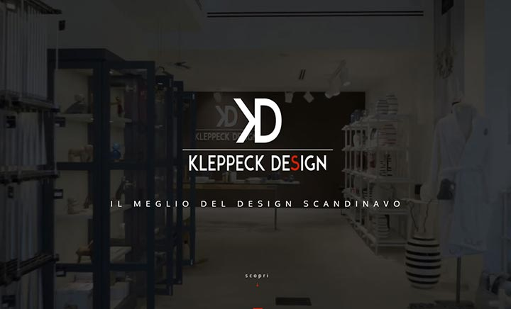 Kleppeck Design website