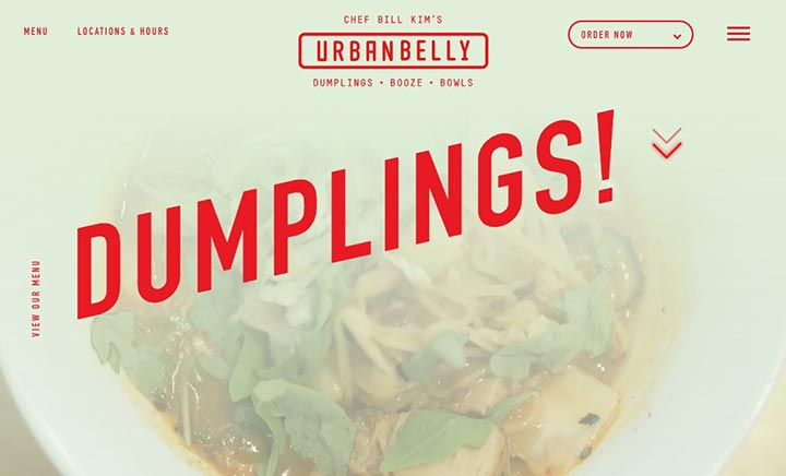 Urban Belly website