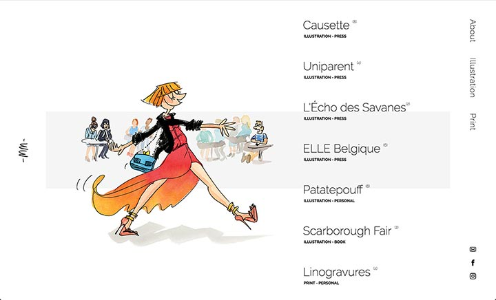 Marie Morelle - Illustrator website