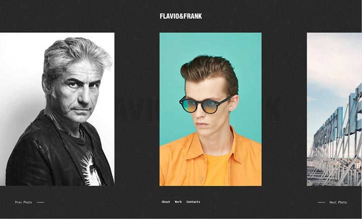 Flavio&Frank website