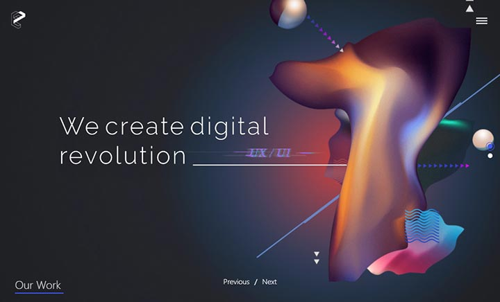TheEvolution7 - Branding Agency website