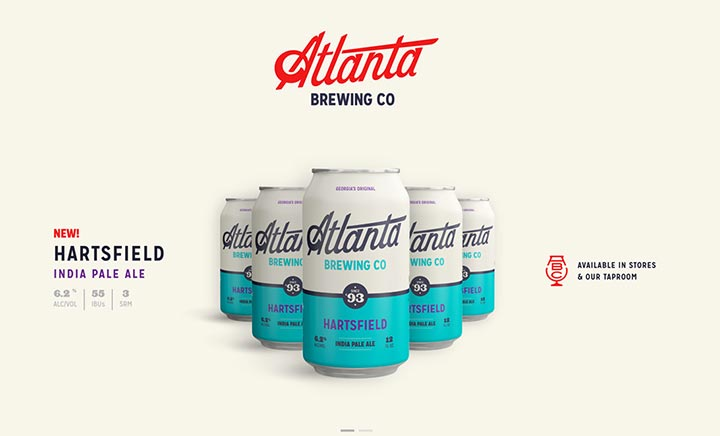 Atlanta Brewing Co website