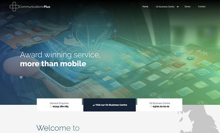 Communications Plus website