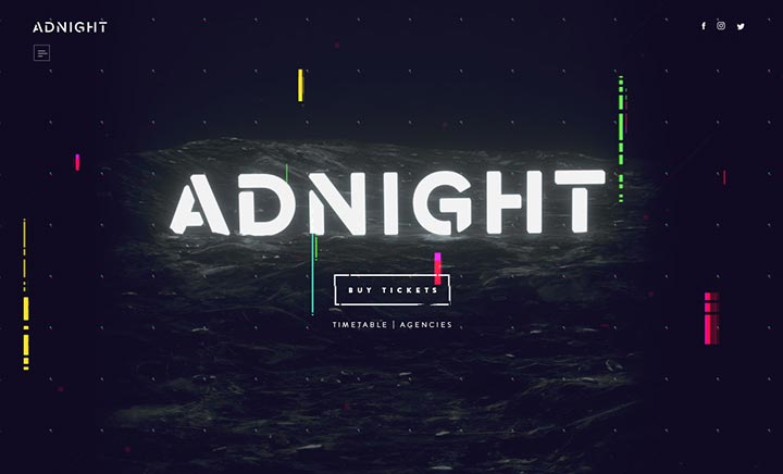 Adnight website