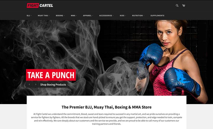 Fight Cartel website