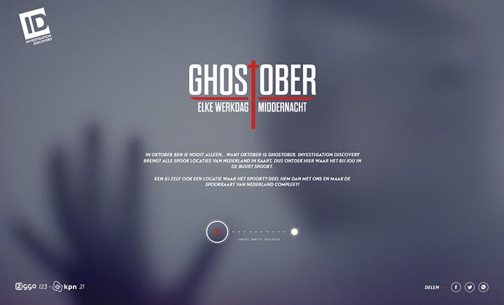 Ghostober website