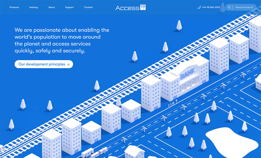 Access IS website