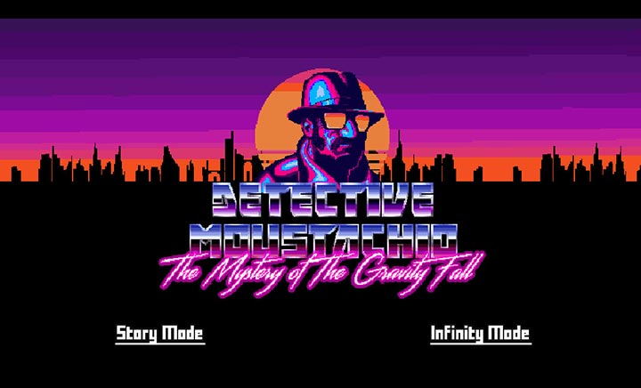 Detective Moustachio website