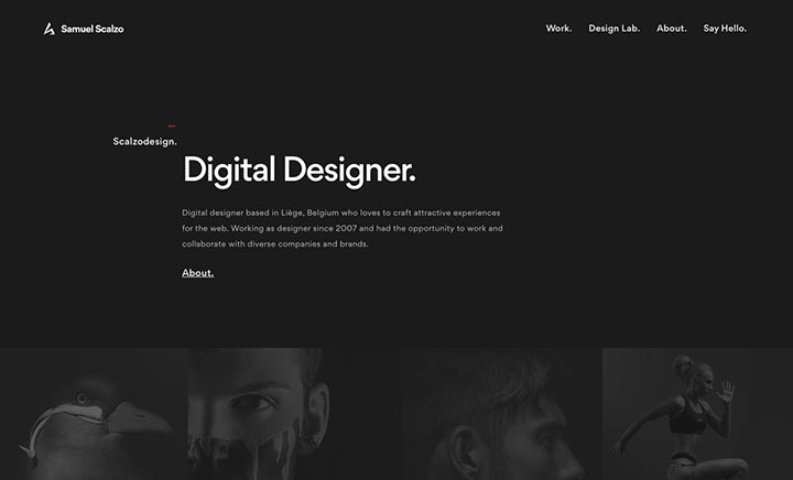 Scalzodesign Portfolio website