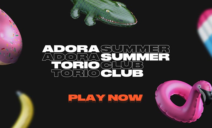 Adoratorio Summer Club website
