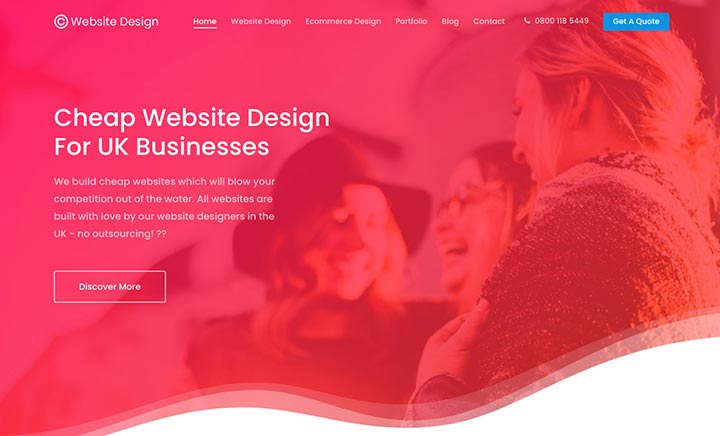 C Website Design