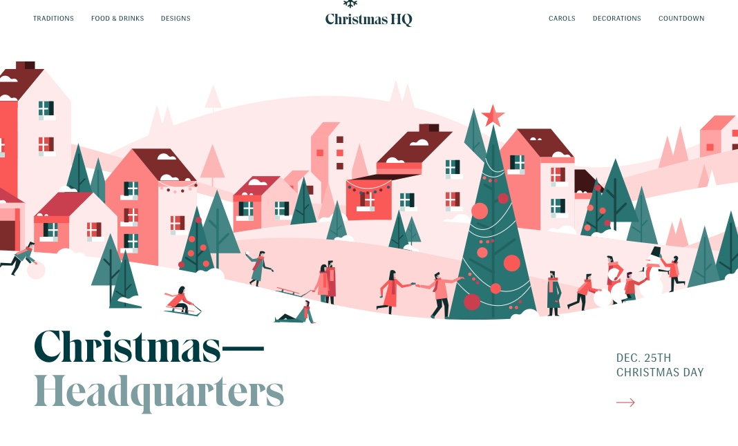Christmas HQ website