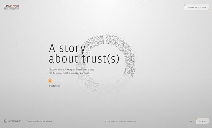 A Story About Trusts website