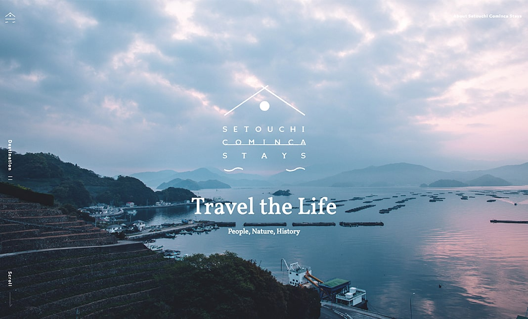 Setouchi Cominca Stays website