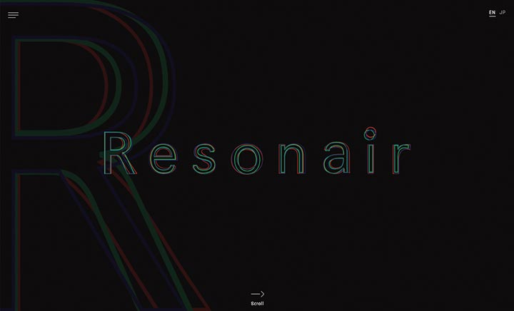 Resonair website