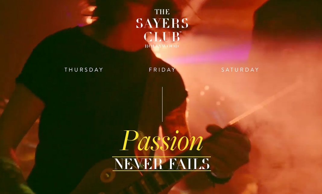 Sayers Club website
