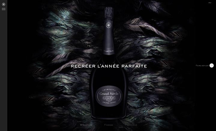 Laurent-Perrier Grand Siècle website