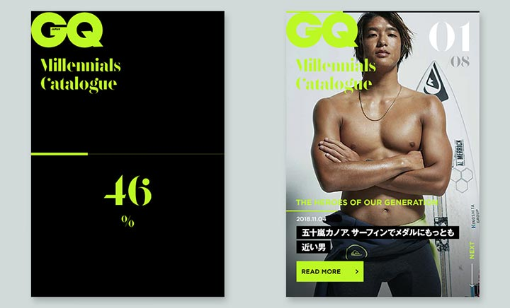 GQ millennials Catalog