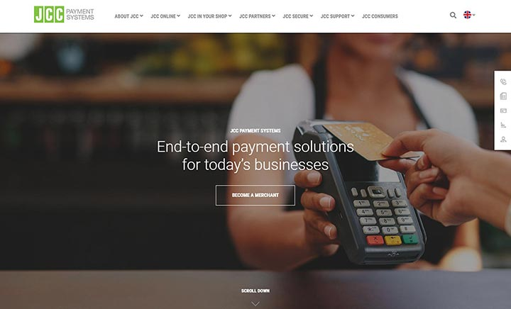 JCC Payment Systems Ltd website