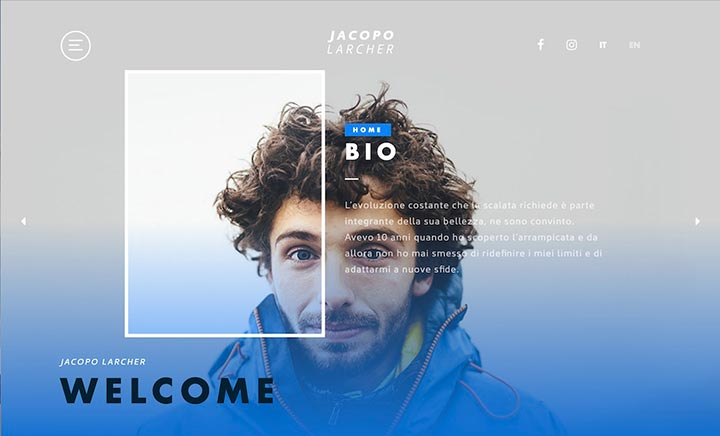 Jacopo Larcher website