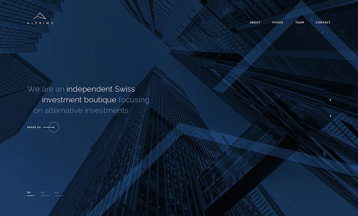 Alprime Capital website