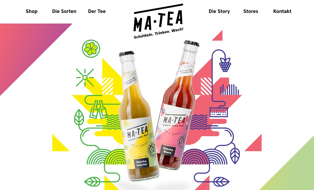 MA-TEA website
