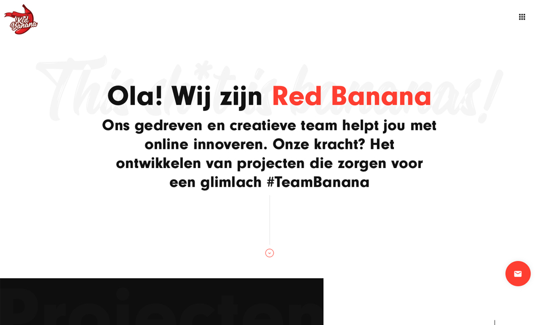 Red Banana website