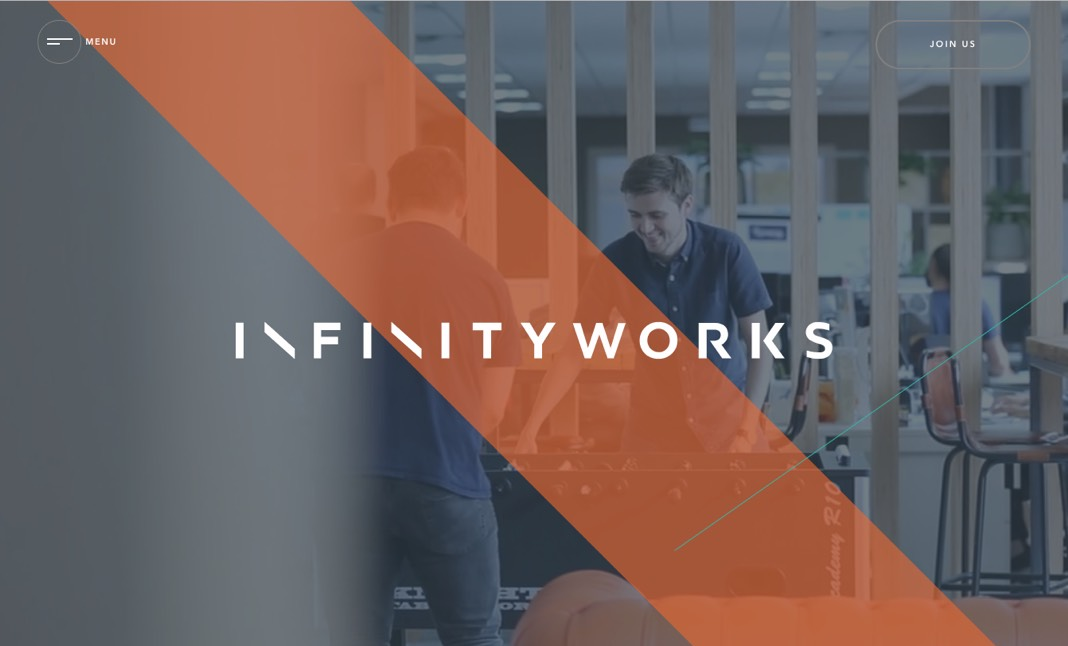 Infinity Works Careers website