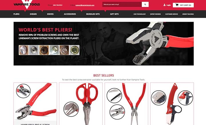 Vampire Tools website