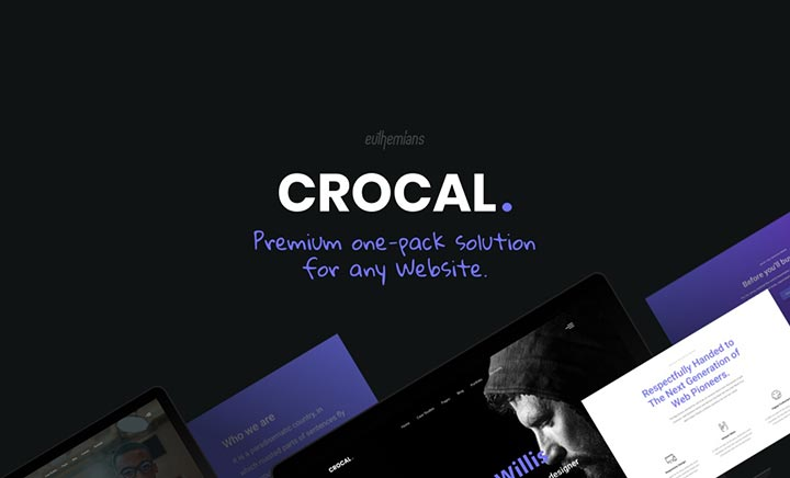 Crocal Multipurpose WP Theme