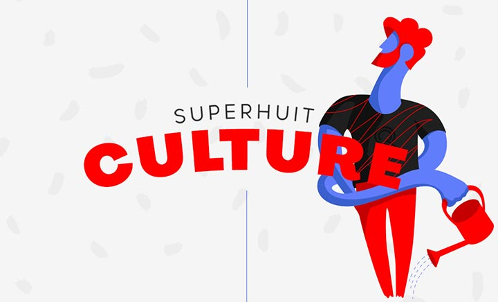 Superhuit Culture website