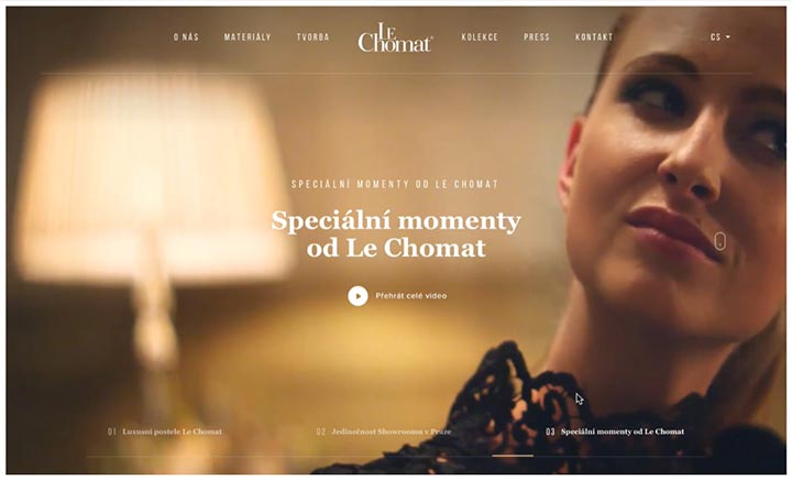Le Chomat website