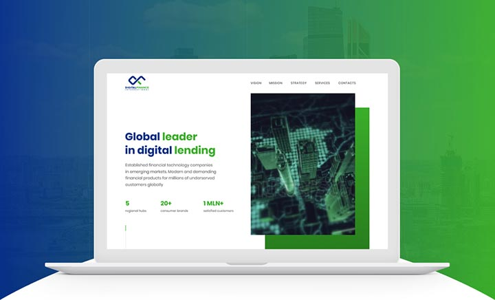 Digital Finance International website