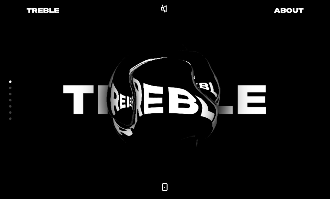 Studio Treble website