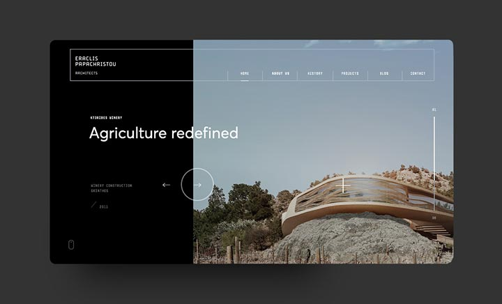Eraclis Papachristou Architects website