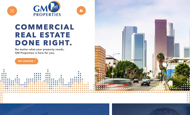 GM Properties website