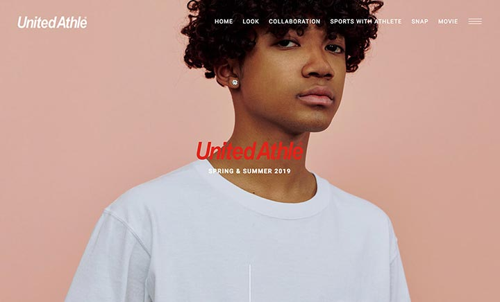 United Athle Look Book SS 2019 website