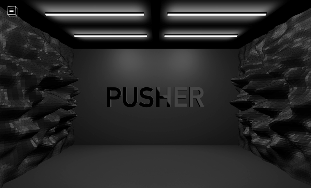 Pusher Music website