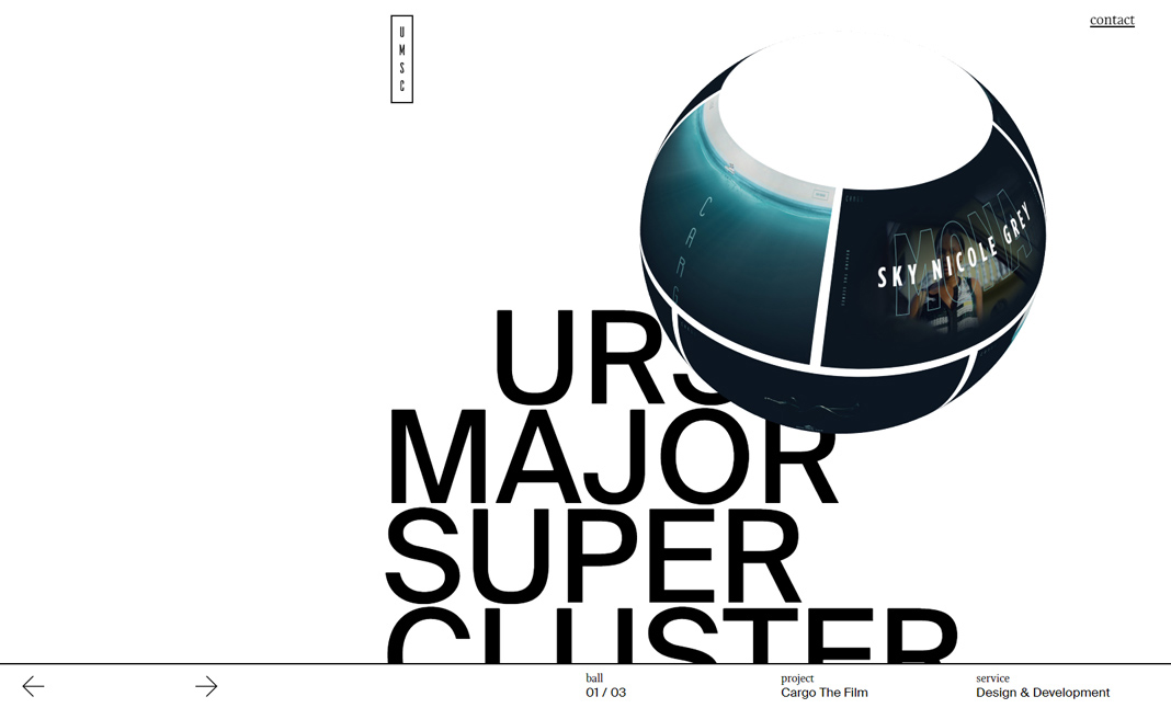URSA MAJOR SUPERCLUSTER 2019 website