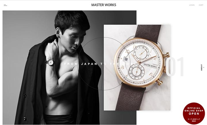 MASTER WORKS Official Site