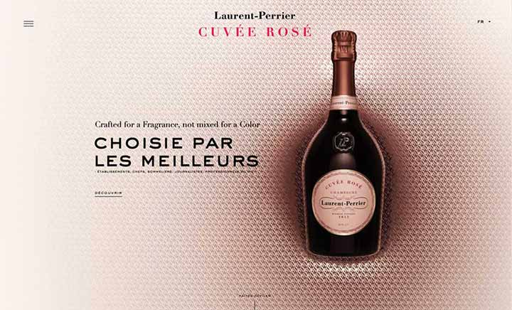 Laurent-Perrier Cuvée Rosé website