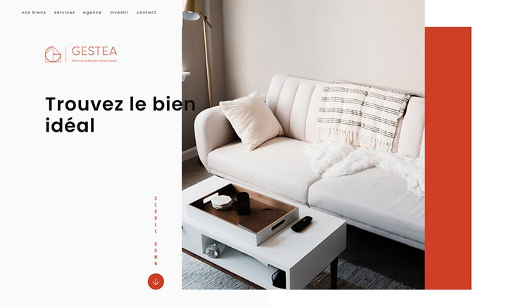 Gestea website